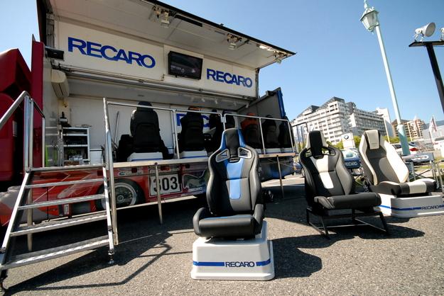 RECARO トラックイベント Studie KOBE 2014.JPG