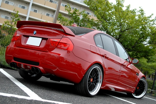 E90 M3 イモラレッド ALLペイント RED Joe (4).JPG