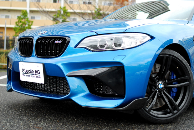F87 M2 新車 M4ドアミラー加工 M PERFORMANCE (2).JPG
