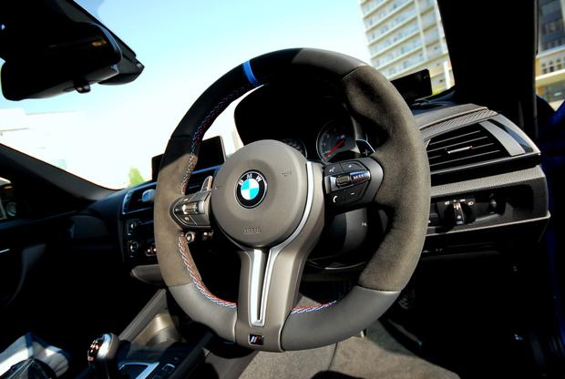 BMW M PERFORMANCE ステアリング M2.JPG