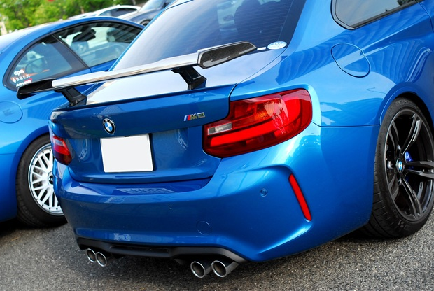 F87 M2 BMW M PERFORMANCE Dry Carbon Wing (2).JPG