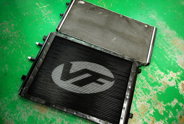 VF Engineering M4 Intercooler ヒートエクスチェンジャー (5).JPG