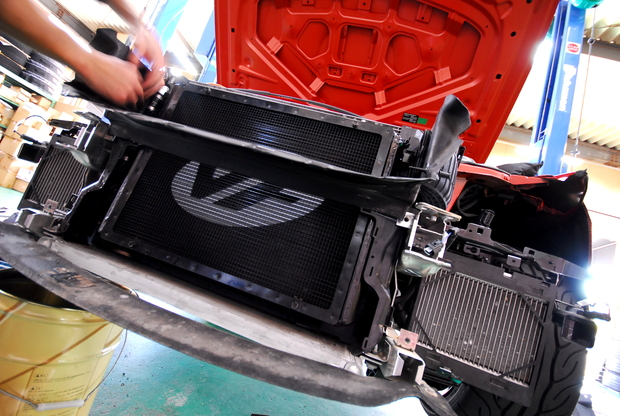 VF Engineering M4 Intercooler ヒートエクスチェンジャー (6).JPG
