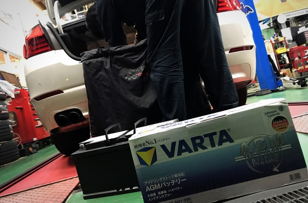 VARTA AGM バッテリー BMW 純正 (3).JPG