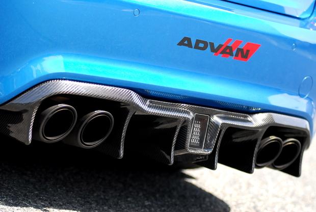 Motorsport24 M2 Carbon リアディフューザー (5).JPG