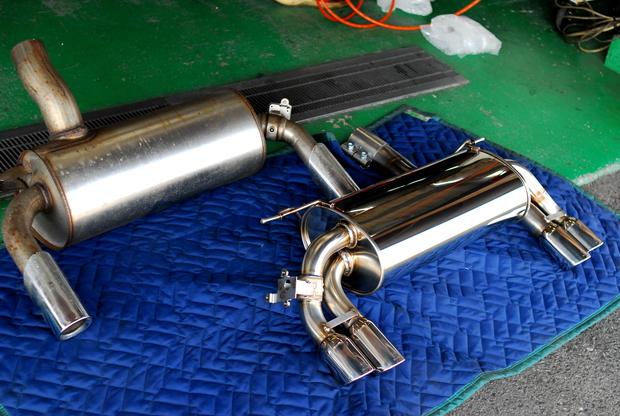 F32 435i 3D Design マフラー ディフューザー (2).JPG