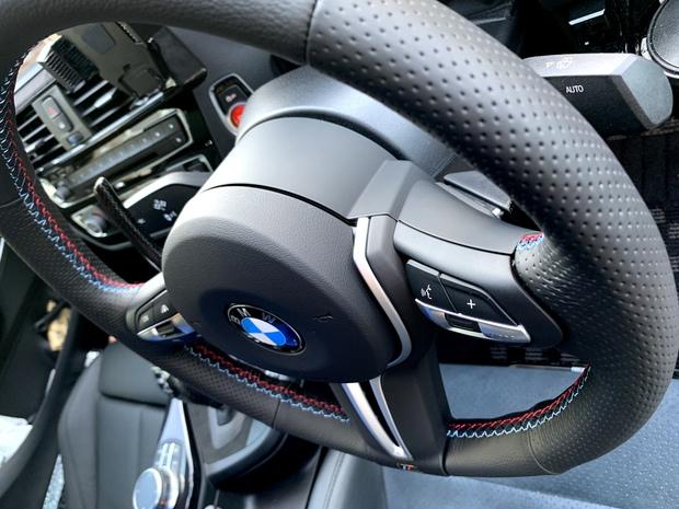 ステアリング張替え 整形 細見 BMW F22 Msp (2).JPG