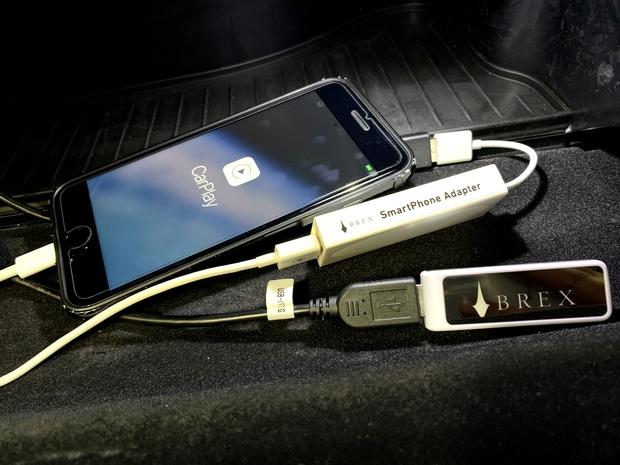 BREX アドモニ Smartphone Adapter CarPlay (4).JPG